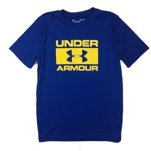 A9 Under Armour Heat Gear Loose Fit T Shirt YLG